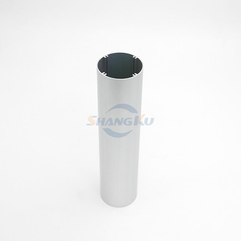 Φ49异形铝圆管3