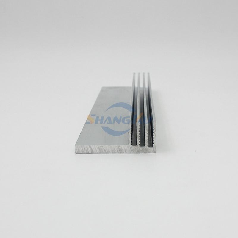 铝合金散热器片截面图
