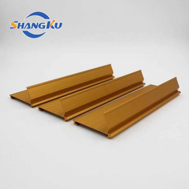 工业铝型材(金色氧化)1