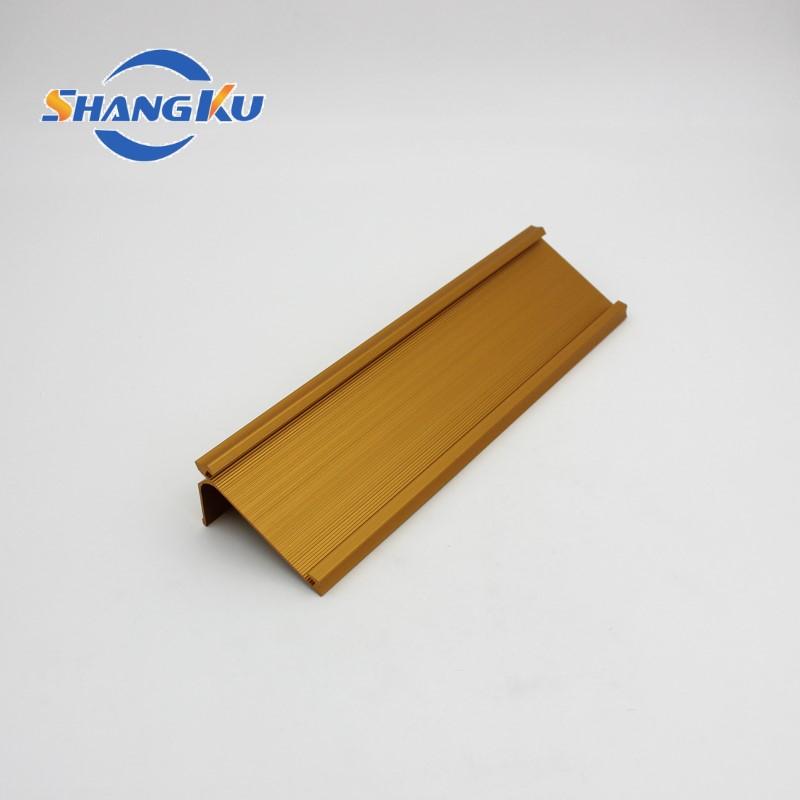 工业铝型材(金色氧化)3